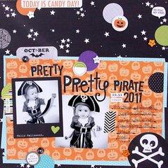 """""""Pretty Pirate"""", by Stephanie Hunt."""
