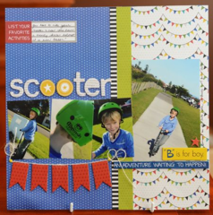 Scooter by Kim Arnold