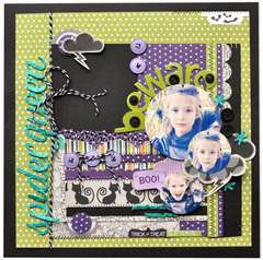 Spider Queen by Amy Heller featuring Bella Blvd Too Cute to Spook
