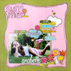 Summer using Sunny Happy Skies by Bella Blvd