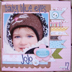 Bella Blvd's Winter Wonder / Baby Blue Eyes by Allyson Meinholz