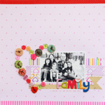 Our Family by Becky Williams featuring Bella Blvd Button Market