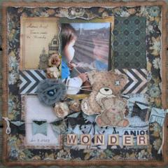 Loves to Scrap blog challenge 2 Embossing DT work