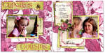 Cupcakes & Cousins *2 page layout