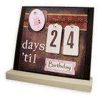 Days 'til Birthday - Interchangeable Magnet Board