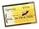 [Wish You Were Here} Card