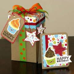 *Imaginisce* Hello Cupcake - card/box set