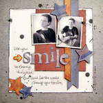 smile - Boys Rule Scrapbook Kits