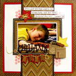 chillaxin - Boys Rule Scrapbook Kits