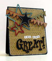 you are great! - Boys Rule Scrapbook Kits