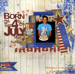 Born on The 4th of July **BoBunny**