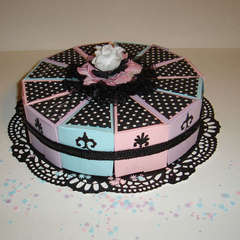 Cake Slice Party Favor Wheel