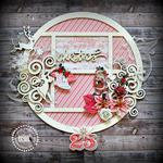 wreath  *PInk Paislee*