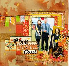 2011 Homecoming Court
