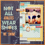 Not All Athletes Wear Shoes *Scraptastic*