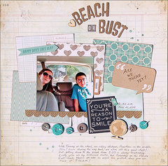 Beach or Bust *Scraptastic*