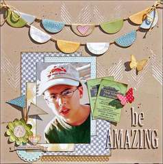 Be Amazing *Scraptastic Club*