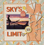 The Sky's The Limit *Scraptastic July*