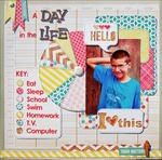 A Day In The Life *Scraptastic Kits*