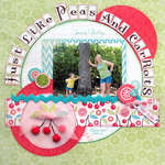 ~MYCREATIVESCRAPBOOK~ Peas & Carrots