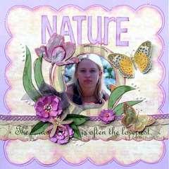 Nature (handmade flowers)