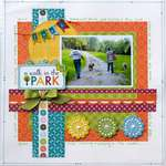 A Walk in the Dog Park **MyCreativeScrapbook**