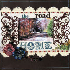 The Road Home *MYCREATIVESCRAPBOOK*