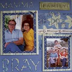 Mam-ma and Pap-pa Bray