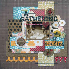 A Gathering Of Cousins - Artful Delight January Kit