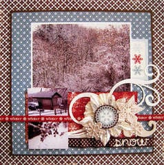 Winter Snow *My Creative Scrapbook*