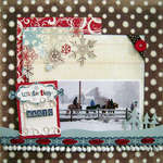 Wintertime Magic *My Creative Scrapbook*