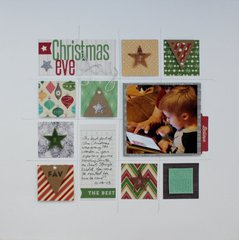 Christmas Eve Joy Layout