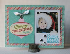 Santas Little Helper Card