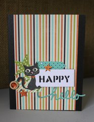 Happy Cat Hello Card
