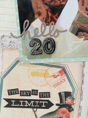 Hello 20 Birthday detail 2