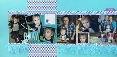Birthday Boy Double Layout