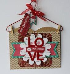 Love Letters Hanger