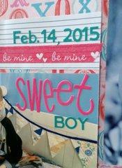 Sweet Boy Valentine title
