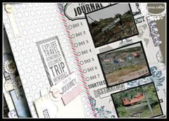 Travel mini book *Teresa Collins Far & Away