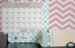 Calendar Mini Book *Teresa Collins* Memories Collection
