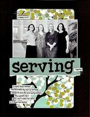 serving together