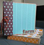 Farm mini album in a box