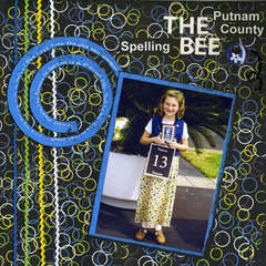 The Putnam County Spelling Bee -- Scraptathlon -- Week 4