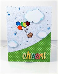 Lawn Fawn Cheers Card