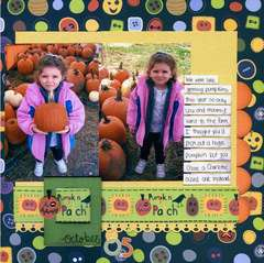 Pumpkin Patch ***New Imaginisce Spooky Town Collection