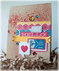 Smile Hello Card