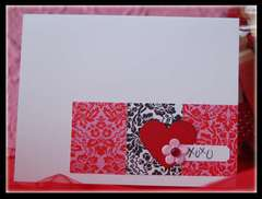 XOXO Flower Card