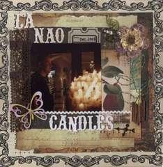 LA NAO CANDLES...VINTAGE CHIC