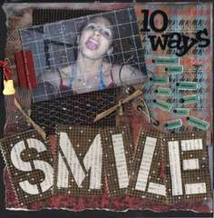 10 WAYS TO SMILE... URBAN GRUNGE KIT..