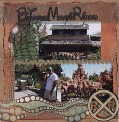 BIG THUNDER MOUNTAIN RAILDROAD